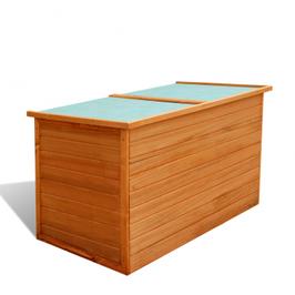 Coffre de jardin étanche en bois