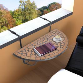 Table de balcon suspendue modèle 4