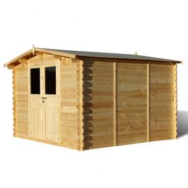Abris de jardin bois 9 m²