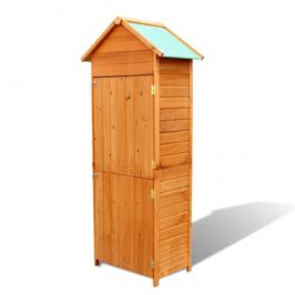 Armoire de jardin étanche en bois