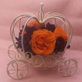 かぼちゃの馬車 バイオレット&オレンジ