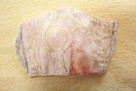 マスク 花柄ピンク