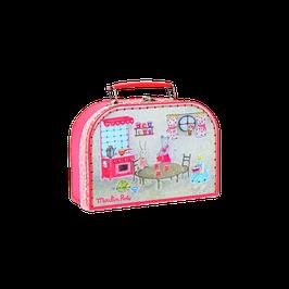 Teeservice im Koffer