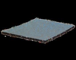 PAWADEC Gummigranulat für Terrassenlager 8 x 190 x 190mm