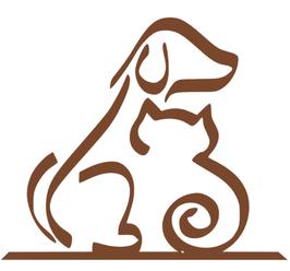 Silhouette Hund/ Katze