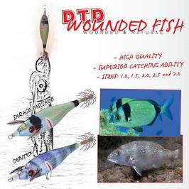 TATAKI DTD WOUNDER FISH BUKVA MIS 1.0 - 45 MM
