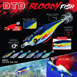 DTD BLOODY FISH MIS 1.5 - 5,8 GR - 55 MM