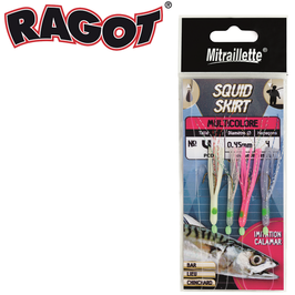 MITRAILLETTE SQUID SKIRT MULTICOLORE RAGOT