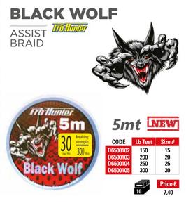 BLACK WOLF PRO-HUNTER ASSIST BRAID BOBINA DA 5 MT