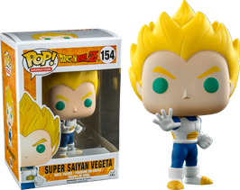 FIGURA POP! DRAGON BALL Z (SUPER SAIYAN VEGETA LIMITED) nº154