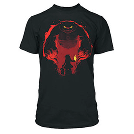 CAMISETA LEAGUE OF LEGENDS (LOL TIBBERS NEGRA) M/C