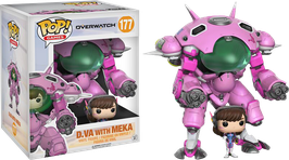 FIGURA POP! OVERWATCH (D.VA WITH MEKA) nº177