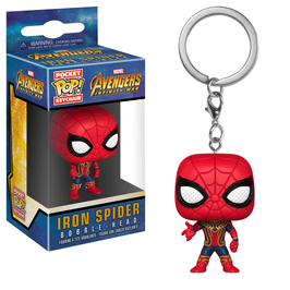 LLAVERO POCKET POP! AVENGERS INFINITY WAR (IRON SPIDER)