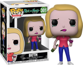 FIGURA POP! RICK Y MORTY (BETH WITH WINE)