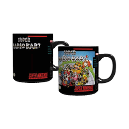 TAZA SUPER MARIO KART CAMBIA DE COLOR