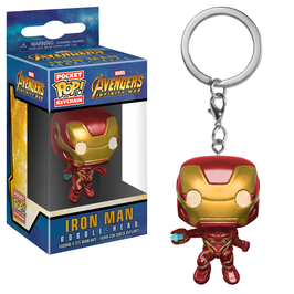 LLAVERO POCKET POP! AVENGERS INFINITY WAR (IRON MAN)