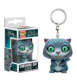 LLAVERO POCKET POP! ALICE IN WONDERLAND (CHESHIRE CAT)