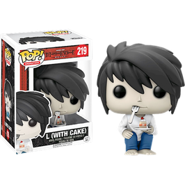 FIGURA POP! DEATH NOTE (L WITH CAKE) nº219