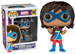 FIGURA POP! MS. MARVEL (KAMALA KHAN)