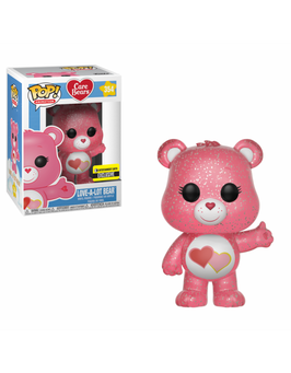 FIGURA POP! CARE BEARS (LOVE A LOT BEAR GLITTER)