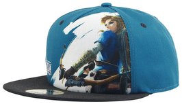 GORRA THE LEGEND OF ZELDA BREATH OF THE WILD SNAP BACK LINK