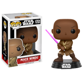 FIGURA POP! STAR WARS (MACE WINDU) nº172