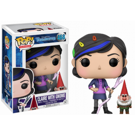 FIGURA POP! TROLLHUNTERS (CLAIRE WITH GNOME)
