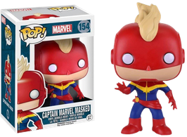 FIGURA POP! MAVEL (CAPTAIN MARVEL MASKED)