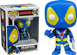 FIGURA POP! DEADPOOL (THUMBS UP X-MEN) AZUL nº112