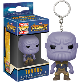 LLAVERO POCKET POP! AVENGERS INFINITY WAR (THANOS)