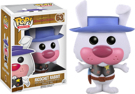 FIGURA POP! HANNA BARBERA RICOCHET RABBIT (RICOCHET RABBIT FLOCKED) nº63