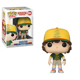 FIGURA POP! STRANGER THINGS (DUSTIN AT CAMP)