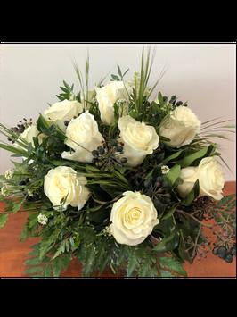Bouquet rond Mélisandre