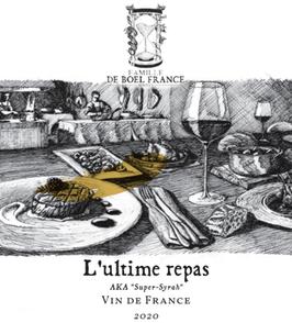 Vin de France, L'ultime repas - aka Super Syrah 2020, Syrah 100%