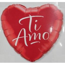 """Palloncino cuore """"ti amo"""""""