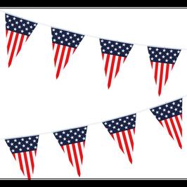 "Festone Bandierina America ""Flying USA"" 6mt"