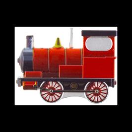 Candelina Sagomata Locomotiva Trenino Rosso