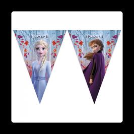 "Festone Bandierina plastica ""Frozen II"" Disney"