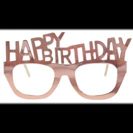 Occhiali Happy Birthday Rose Gold