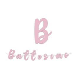 "Festone Battesimo "" 3mt"