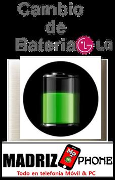 Sustitucion de BATERIA  Calidad Original LG G3 (D855)