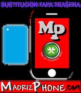 Cambiar / Reparar Tapa-carcasa trasera Apple iPHONE 5c