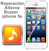 Cambiar / Reparar altavoz buzzer inferior Apple iphone 5s
