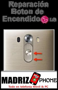 Reparación del Boton Encendido  LG G4
