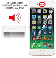 Cambiar / Reparar Altavoz Auricular Superior iPHONE 7 / 7 Plus Original