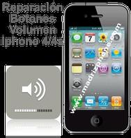 Cambiar / Reparar Flex Audio. Subir/Bajar Volumen APPLE IPHONE 4/4S