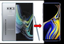 Cambiar / Reparar Cristal de la pantalla Samsung Galaxy NOTE 9 SM-N960F