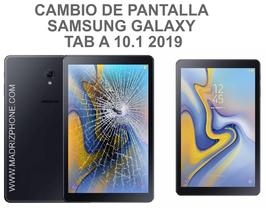 Cambiar / Reparar pantalla completa ( LCD + TACTIL ) Samsung Galaxy TAB A 10.1 2019 SM-T510 , SM-T515