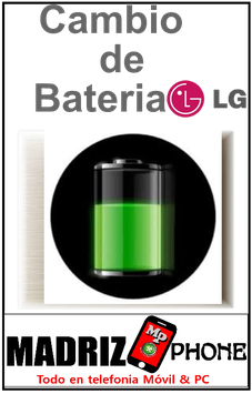 Sustitucion de BATERIA  Calidad Original LG G5 (H850)