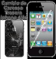 Cambiar / Reemplazar Tapa Trasera de Cristal  APPLE IPHONE 4/4S